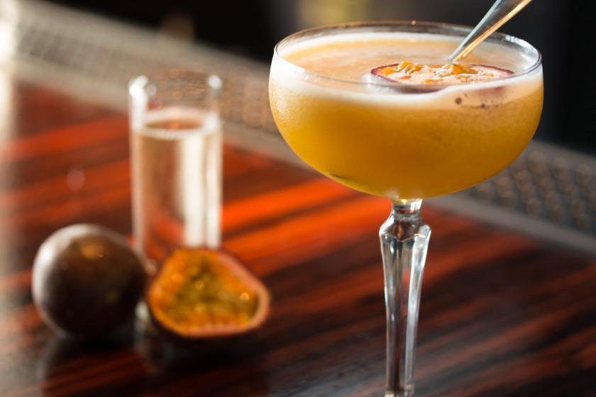 Pickle Jar at The Well Corn Star Martini