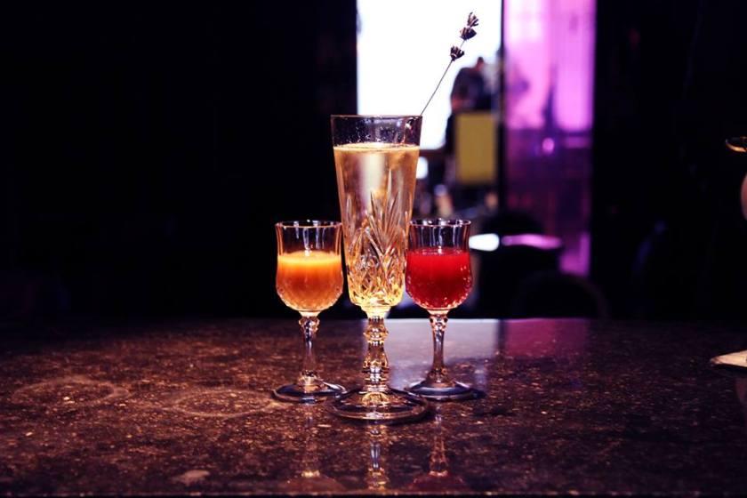 Purple Bar Sanderson London cocktails