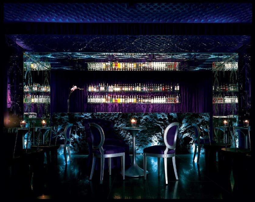 Purple Bar Sanderson London interior