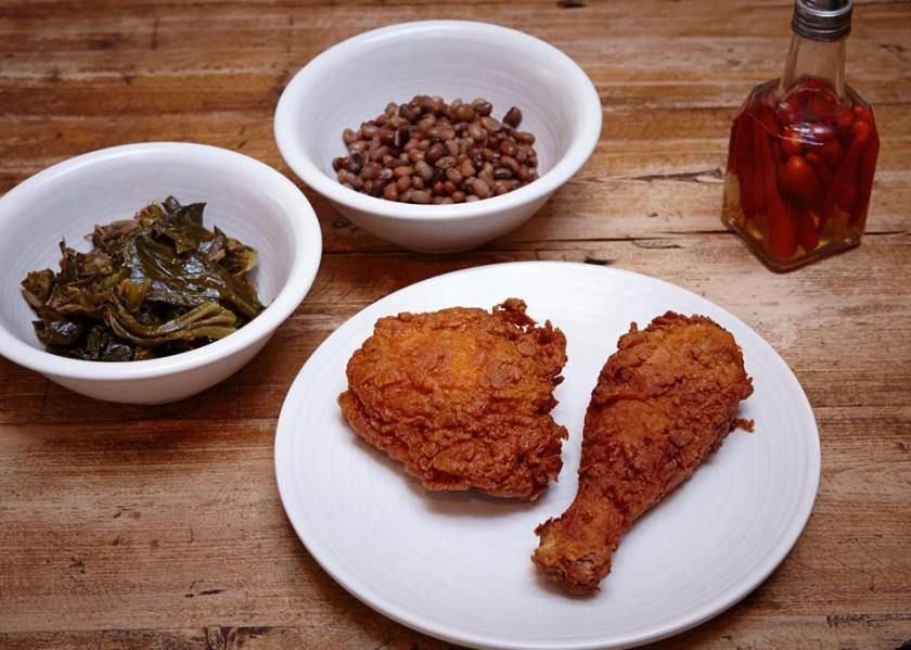 The Lockhart fried chicken