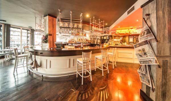 The Newsroom Edinburgh bar