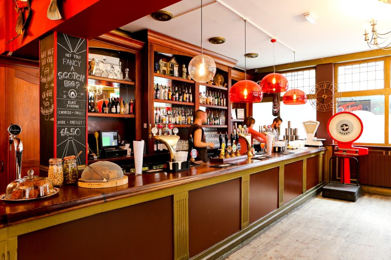 The Water Poet Spitalfields bar