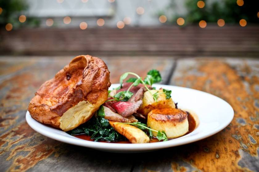 The Water Poet Spitalfields Sunday roast