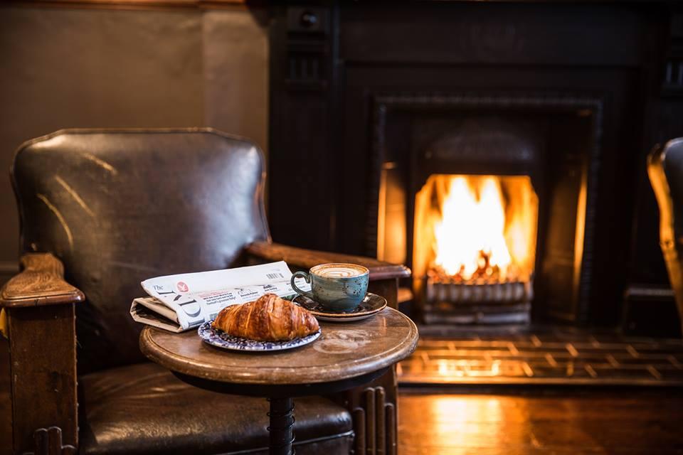 Black Swan Leeds fireplace