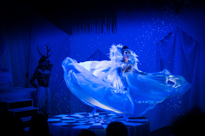Palace of the Snow Queen Christmas Cabaret