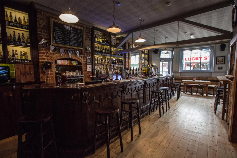 The Prince George Brighton bar