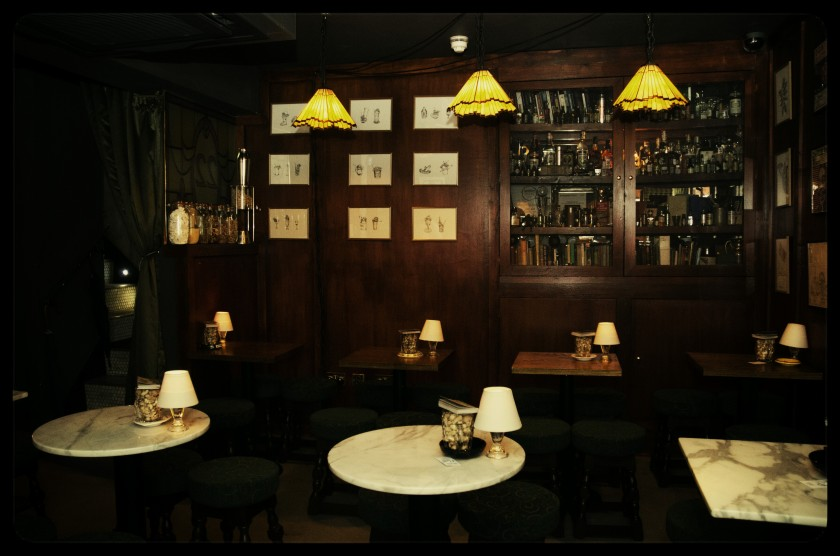 The Cocktail Trading Company interior