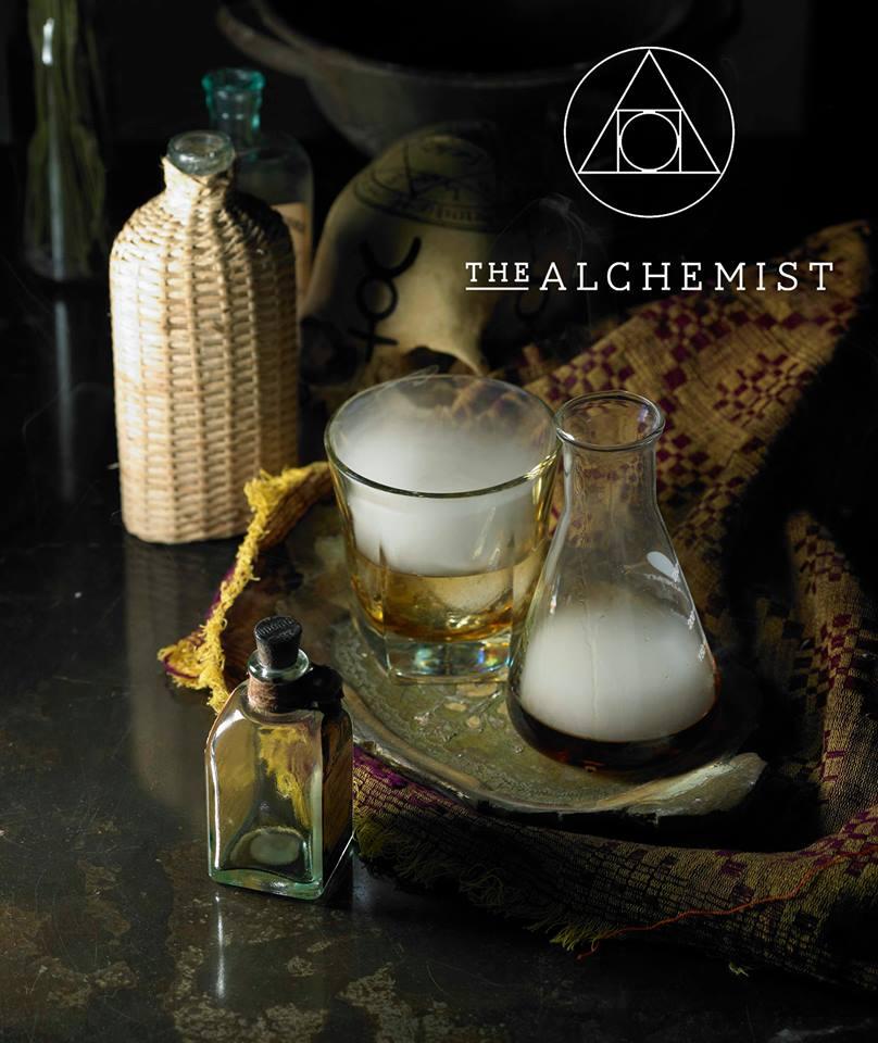 The Alchemist smokey old fashioned