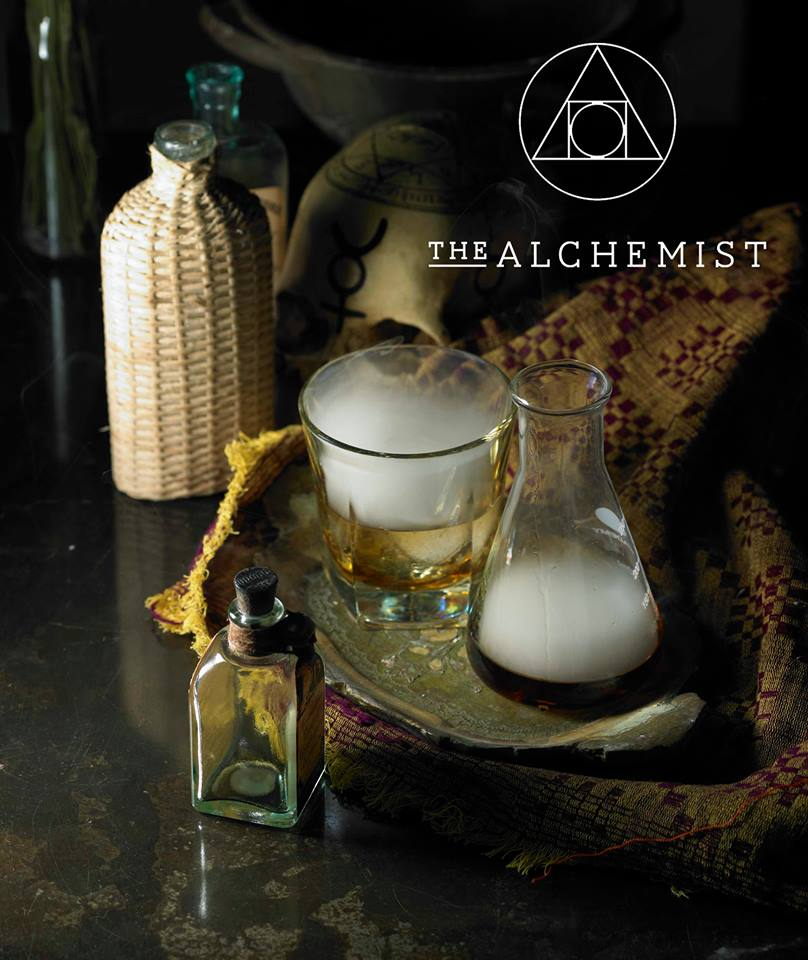 The Alchemist smokey old fashioned