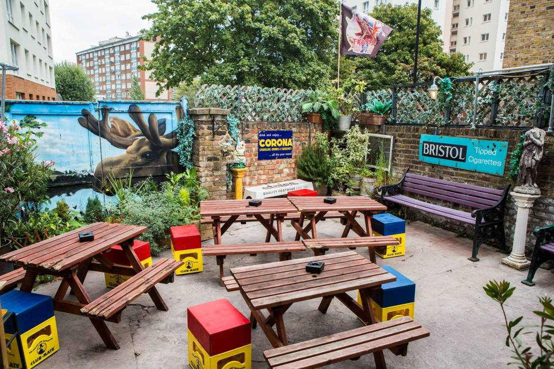 The Kenton Mile End beer garden