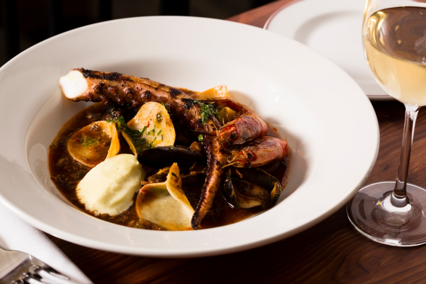 The Richmond Hackney nduja spiced seafood stew